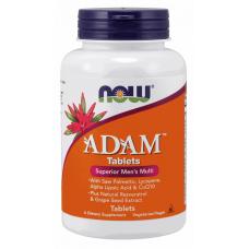NOW Adam, 60 таблеток