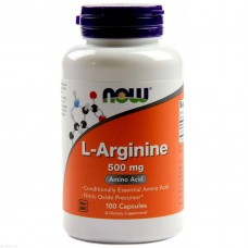 NOW Arginine 500, 100 капсул