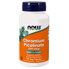 NOW Chromium Picolinate, 100 капсул