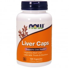 NOW Liver Caps, 100 капсул