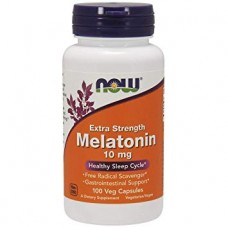 NOW Melatonin 10 мг, 100 вегакапсул