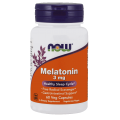 NOW Melatonin 3 мг, 60 вегакапсул