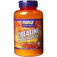 NOW Creatine Monohydrate, 227 грамм