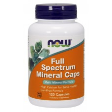 NOW Full Spectrum Mineral Caps, 120 капсул