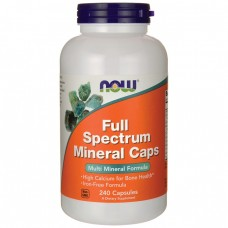 NOW Full Spectrum Mineral Caps, 240 капсул