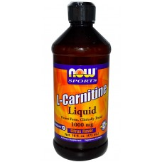 NOW L-Carnitine Liquid, 465 мл