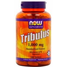 NOW Tribulus 1000mg, 180 таблеток