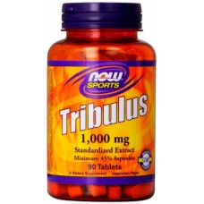 NOW Tribulus 1000mg, 90 таблеток