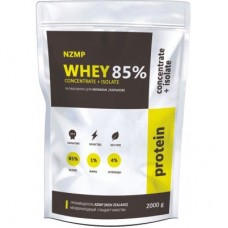 NZMP(New Zealand) Whey Concentrate + Isolate 85%, 2 кг