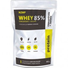 NZMP(New Zealand) Whey Concentrate + Isolate 85%, 900 грамм