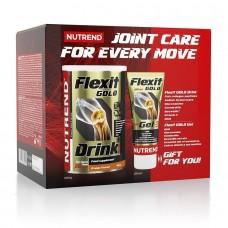 Nutrend Flexit Drink Gold, 400 грамм + Flexit Gold Gel, 100 мл