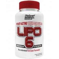 Nutrex Research Lipo-6 Maximum Strength, 120 жидких капсул