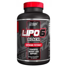 Nutrex Research Lipo-6 Black, 120 капсул