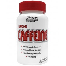 Nutrex Research Lipo-6 Caffeine, 60 капсул