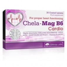 Olimp Chela-Mag B6 Cardio, 30 таблеток