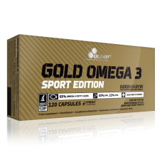 Olimp Gold Omega Sport Edition, 120 капсул