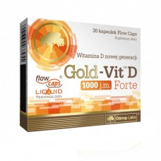 Olimp Gold-Vit D 1000 Forte, 30 капсул