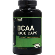 Optimum BCAA 1000, 200 капсул