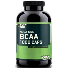 Optimum BCAA 1000, 400 капсул
