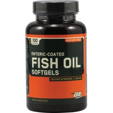 Optimum Fish Oil, 100 капсул