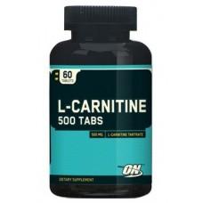 Optimum L-Сarnitine 500, 60 таблеток