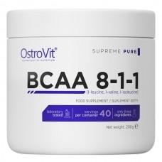 OstroVit BCAA 8-1-1, 200 грамм - лимон СРОК 06.21