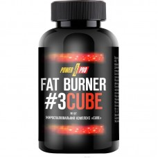 Power Pro Fat Burner №3 CUBE, 90 капсул