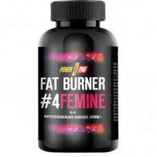 Power Pro Fat Burner №4 FEMINE, 90 капсул