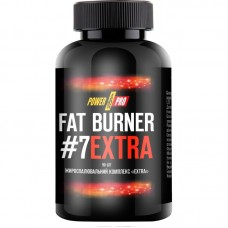 Power Pro Fat Burner №7 EXTRA, 90 капсул