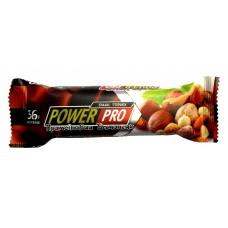 Power Pro 36% батончик Nutella с орехами, 60 грамм