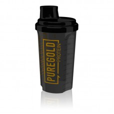 Шейкер  Pure Gold Protein, 700 мл - черный