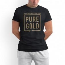 Футболка Pure Gold Protein, черная
