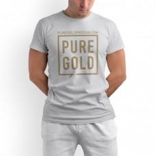 Футболка Pure Gold Protein, белая