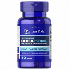 Puritans Pride DHEA 50 мг, 50 таблеток