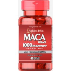 Puritans Pride MACA Extract, 60 капсул