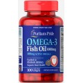 Puritans Pride Omega 3, 100 капсул