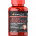 Puritans Pride Triple Omega 3-6-9, 120 капсул
