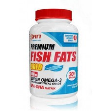 SAN Premium Fish Fats Gold, 120 капсул
