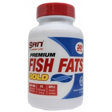 SAN Premium Fish Fats Gold, 60 капсул