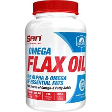 SAN Omega Flax Oil, 100 капсул