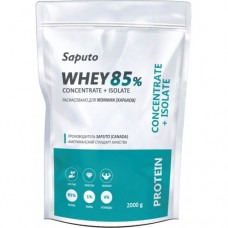 Saputo Whey Concentrate + Isolate 85%, 2 кг