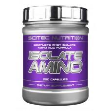 Scitec Isolate Amino, 250 капсул