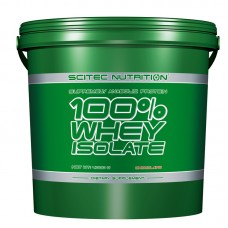 Scitec 100% Whey Isolate, 4 кг