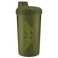 Шейкер Scitec Muscle Army, 700 мл - темно зеленый