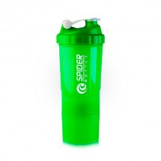 Шейкер Spider Bottle Mini2Go, 500 мл - зеленый