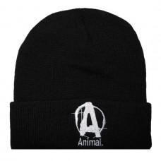 Шапка Animal- черная