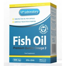 VPLab Fish Oil, 60 капсул