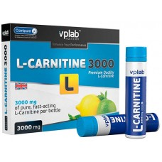 VPLab L-Carnitine 3000, 7 ампул/уп